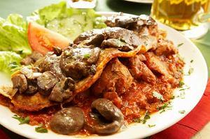 Draniki (placki ziemniaczane) z mięsem