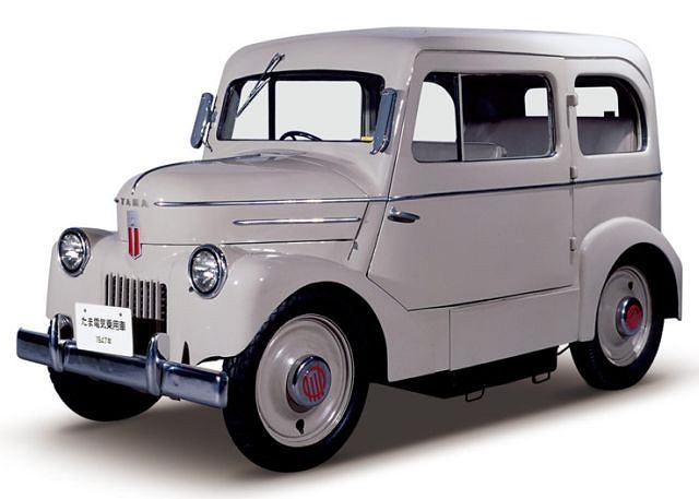 Pierwszy samochód elektryczny Nissana - Tama Denki Jidosya z 1947 roku