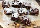 Menu dnia z osza�amiaj�cym brownie