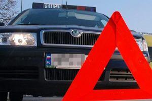 Wypadek na Lubelszczy�nie. Jedna osoba nie �yje, DK nr 63 zablokowana