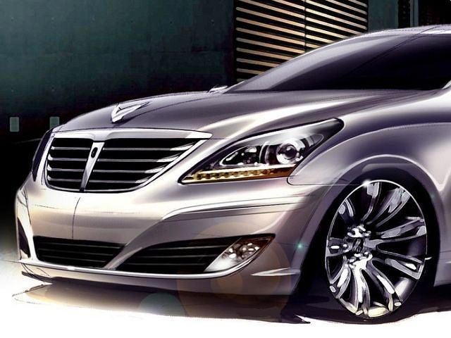 Hyundai Equus - szkic