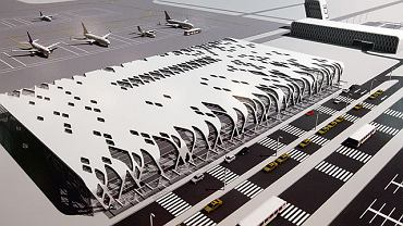 Konkurs na projekt lotniska w Obicach. I miejsce - Konsorcjum Autorska Pracownia Architektury Kuryłowicz & Associates i Biuro Studiów Projektów Lotniskowych POLCONSULT
