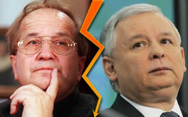 Ojciec Tadeusz Rydzyk i Jarosław Kaczyński