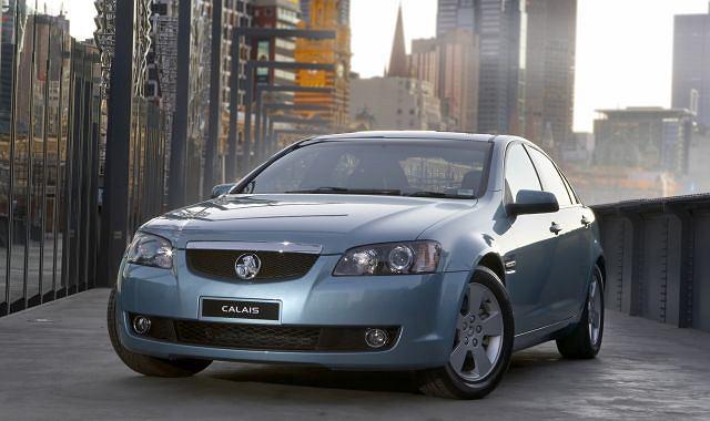 Holden Commodore (na zdj. w wersji Calais) to hit eksportowy australijskiej filii GM. Po likwidacji Pontiaca hossa może się skończyć