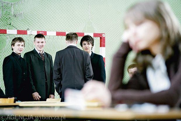 Gimnazjali�ci walcz� o miejsce w dobrym liceum