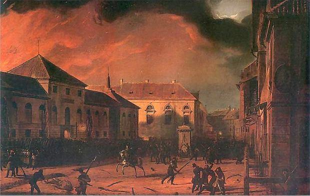 Marcin Zaleski, Cykl Listopadowy, Wzi�cie Arsena�u, 1830