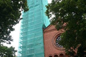 Wieża z getta w remoncie