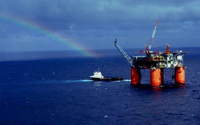 Platforma wiertnicza w Zatoce Meksykańskiej