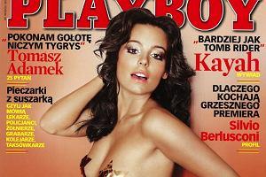 Mucha w Playboyu ta sesja zszokowała wszystkich.