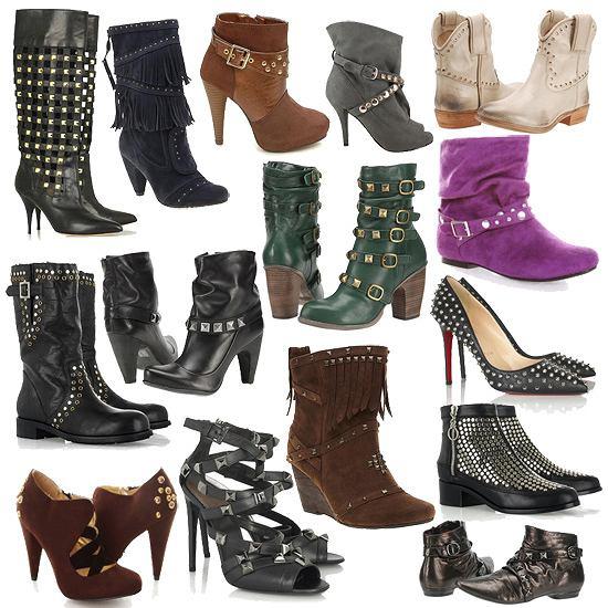 95d5aab9 Rockowy trend - buty z ćwiekami