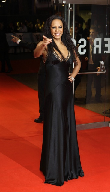 "British singer Mel B arrives at London's Leicester Square Odeon West End Cinema for the British premiere of Michael Jackson's ""This Is It"" on Wednesday, Oct. 28, 2009. (AP Photo/Joel Ryan)"