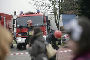 Spłonęły opuszczone magazyny w Tarnowskich Górach