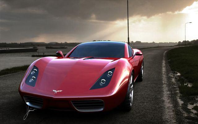 Corvette Z03 wg projektu Ugur Sahin
