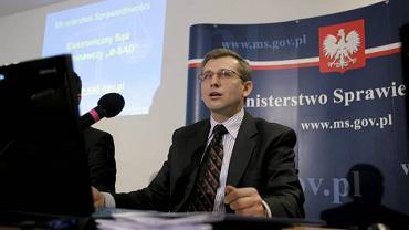 Minister sprawiedliwości Krzysztof Kwiatkowski