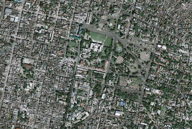 Widok z satelity na żywo