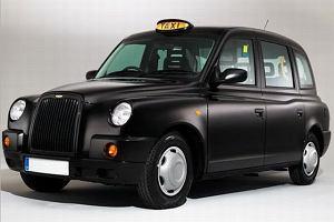 Londyńskie taksówki w Warszawie