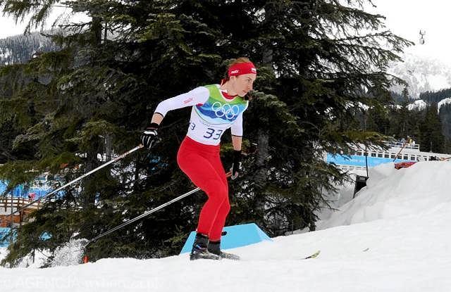 Vancouver 2010. Justyna Kowalczyk na trasie w Whistler