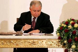 Lech Kaczy�ski chce by� dalej prezydentem