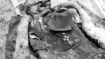 Polski oficer zamordowany w Katyniu