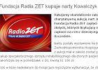 Radio ZET ratuje skandalicznie zako�czon� aukcj� nart J. Kowalczyk