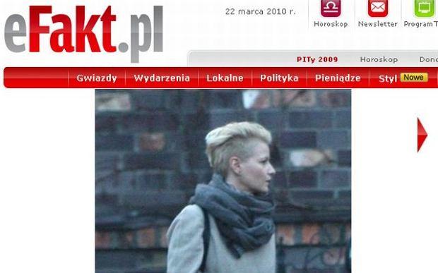 Nowa drapie�na fryzura Ko�uchowskiej