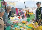 Wiosenny Ser Festival na bazarze przy Banacha