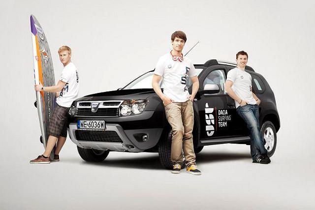 Dacia Duster i Dacia Surfing Team