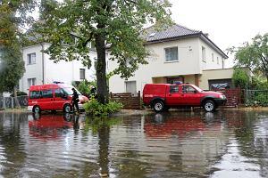 Pogotowie przeciwpowodziowe w Szczecinie