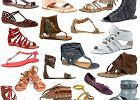 Płaskie sandały na lato