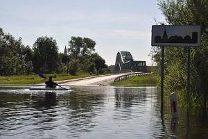 Dwie osoby prawdopodobnie wpadły do rzeki w Małopolsce