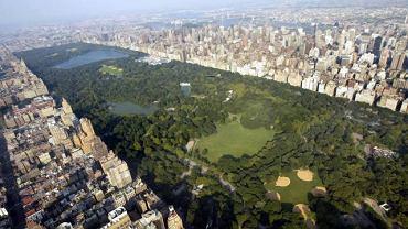 Central Park z lotu ptaka