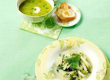 Zupa groszkowo-jarzynowa na sosie z ogórków kiszonych - ugotuj