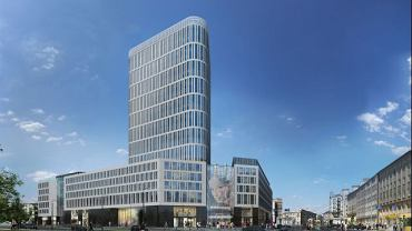 Tak będzie wyglądał wieżowiec z pl. Unii Lubelskiej