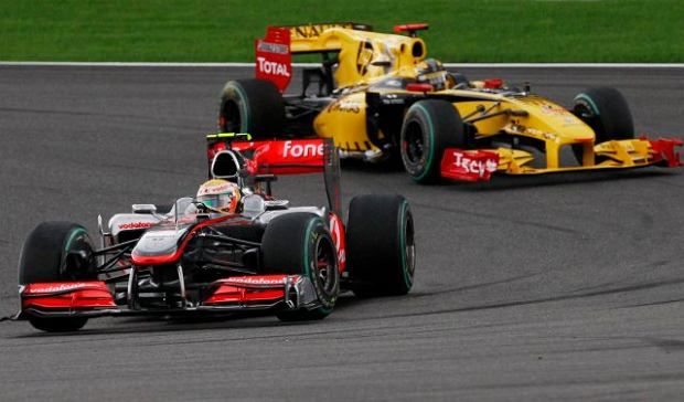 F1. Kubica trzeci w GP Belgii