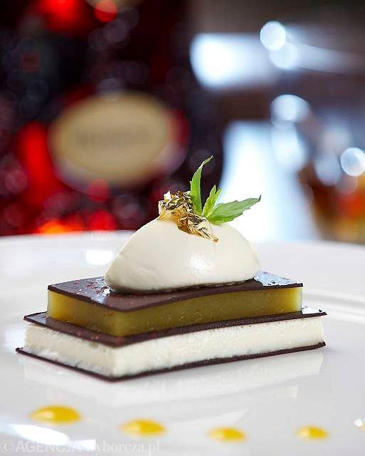 Słodkie mango w mille-feuille to nawiązanie do zapachu dojrzałych owoców, charakterystycznego dla Hennessy X.O.
