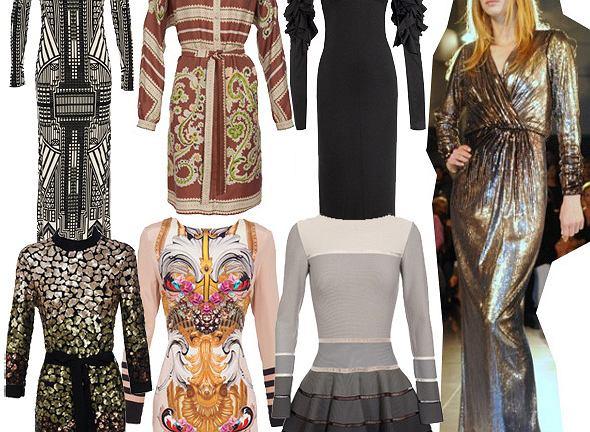 Ekskluzywne sukienki na jesień
