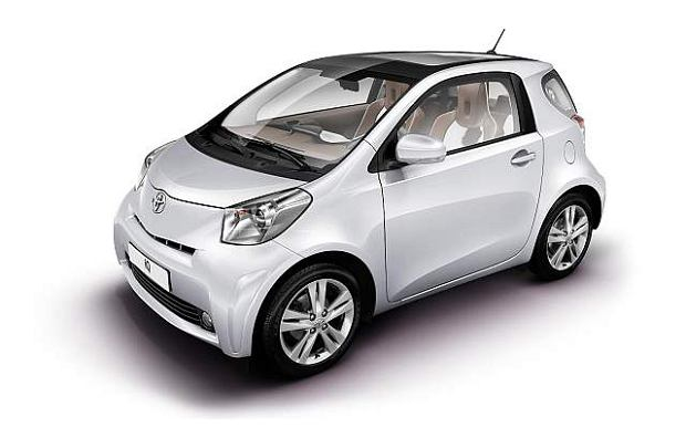 Korekta iQ Toyoty