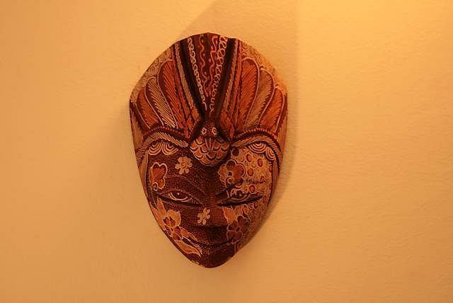 Maska z wakacji