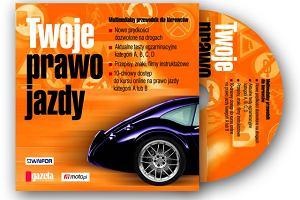 """Gazeta Wyborcza z multimedialnym poradnikiem """"Twoje prawo jazdy"""""""