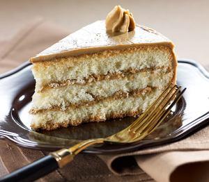 Tort biszkoptowy z kremem kawowym