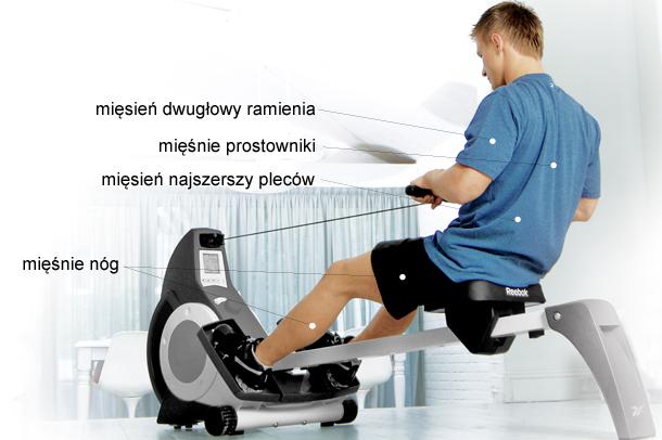 siłownia, fitness, ergometr, Reebok i-rower 2.1