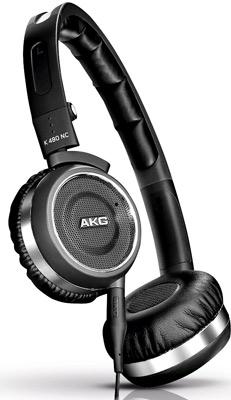 słuchawki z aktywnym tłumieniem, słuchawki, AKG