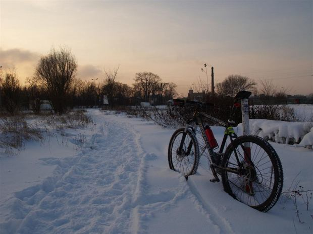 Opony terenowe świetnie sprawdzają się w kopnym śniegu.