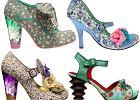 Kwiatowo-owocowe buty Irregular Choice