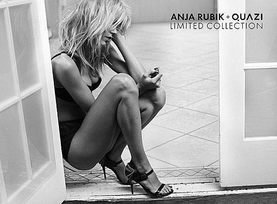 Zdjęcie numer 10 w galerii - Anja Rubik znowu reklamuje Quazi