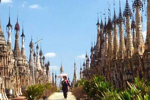 Birma. Od świątyni do świątyni