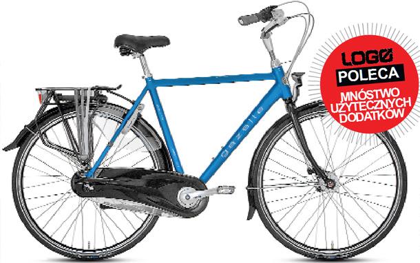 GAZELLE, rowery, miejski