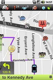 Aplikacja Waze: Community GPS navigation