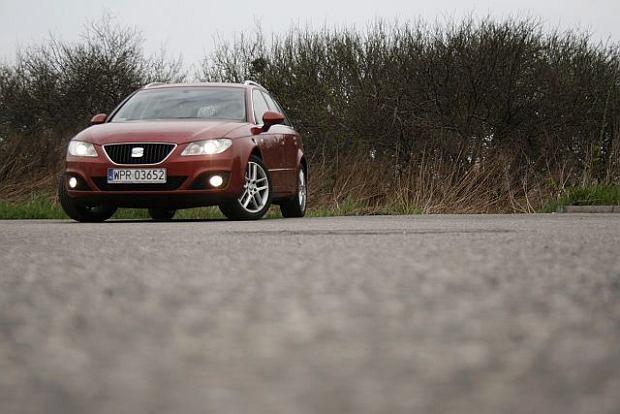 Seat Exeo ST 2.0 TDI - test | Za kierownic�