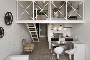 Lofty modelowe - Loft biały